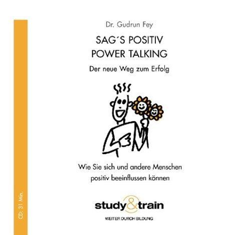 Sag's positiv! Power Talking, 1 Audio-CD