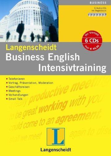 Business English Intensivtraining. 6 CDs und Begleitbuch