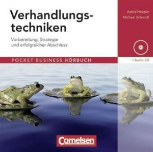 Pocket Business - Hörbuch: Verhandlungstechniken: