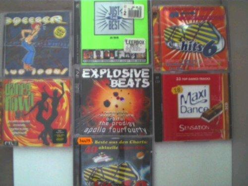 7 CD`s - Künstler/Titel siehe Beschreibung;