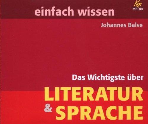 Das Wichtigte über Literatur & Sprache . einfach wissen