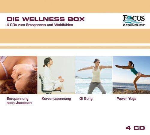 FOCUS Gesundheit präsentiert: Die Wellness Box (4 CD-Box)