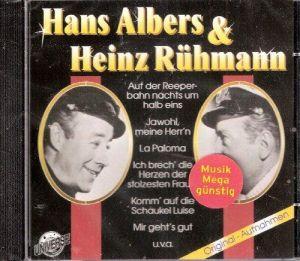 Hans Albers & (und) Heinz Rühmann. Original-Aufnahmen ihrer
