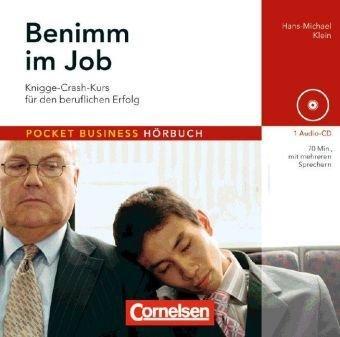 Pocket Business - Hörbuch: Benimm im Job: Knigge-Crash-Kurs