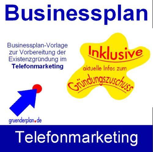 Businessplan Telefonmarketing