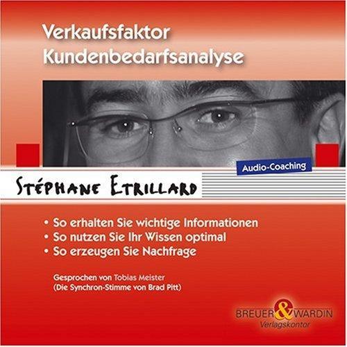 Verkaufsfaktor Kundenbedarfsanalyse. CD